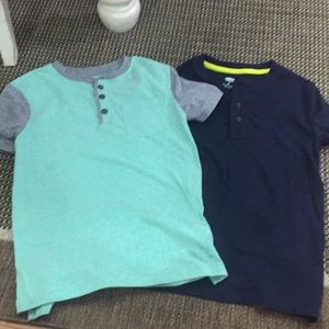 Old Navy Shirts & Tops - 3 boys size 8 old navy short sleeve shirts